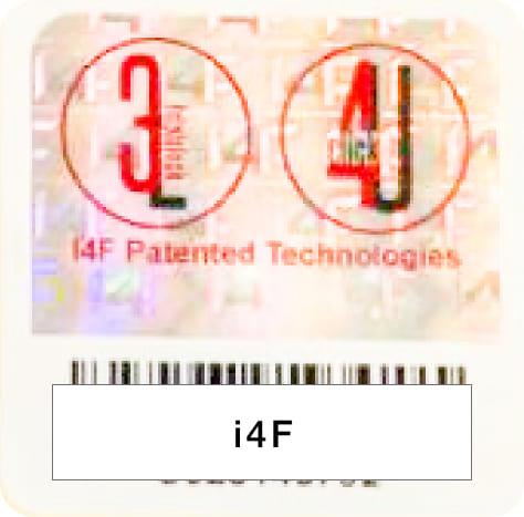 イノベーション4フローリング社(i4f)特許シール