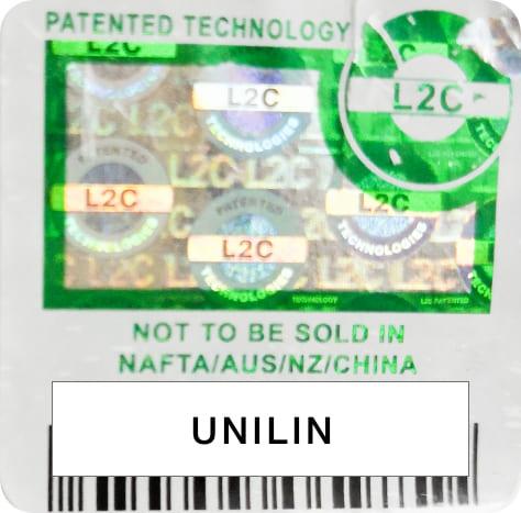 ユニリン社(Unilin)特許シール